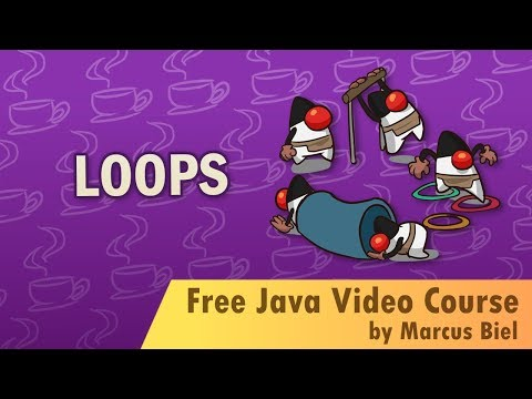 Java for Beginners 8 - loops: for, while and do while loop