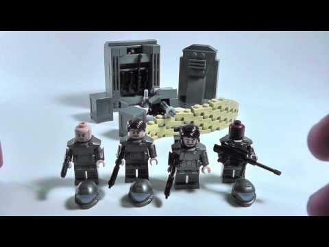 Lego BrickForge Halo 3 ODST Minifigure Review (Tips on Making Halo Figures)