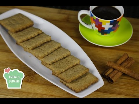 Speculoos Cookies Recipe - Episode 124 - Amina Is Cooking