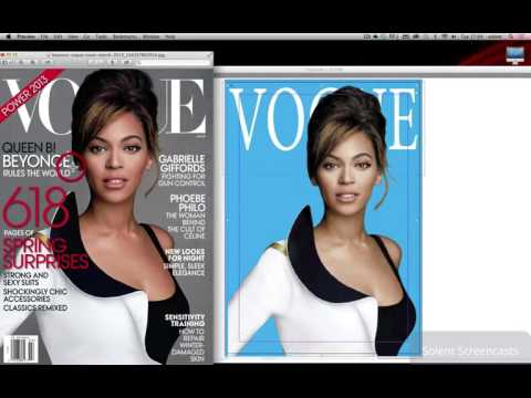 Adobe InDesign CC - Creating a Vogue magazine Cover