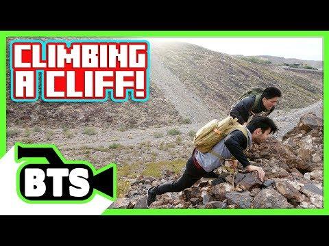 Climbing a Cliff! (BTS)