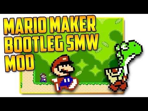 Bootleg Super Mario World Super Mario Maker Mod,DU6XR