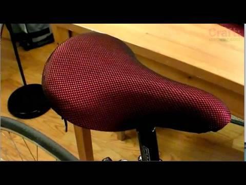 Sew a Drawstring Bike Seat Cover