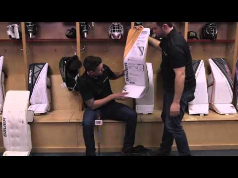 Bauer Supreme 1S OD1N - Goalie Pads Fitting - Bilingual