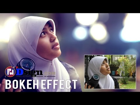 Bokeh Effect Photoshop Tutorial (CS6) Tanpa Plugin - HD