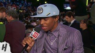 Ja Morant Post Draft Interview   2019 NBA Draft
