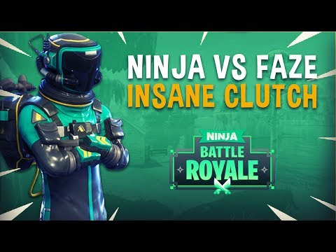 Ninja vs FaZe Game 2 Insane Clutch! - Fortnite Tournament Gameplay