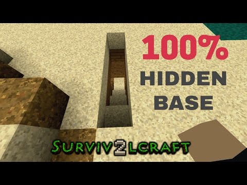 SECRET HIDEOUT - Survivalcraft 2 | Survivalcraft Piston