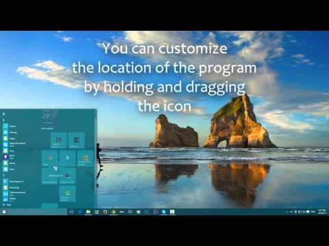 Windows 10 - Start Menu and how to find Programs/Apps
