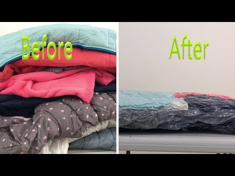 storing winter clothes | Vacuum Storage bag | How to store winter clothes, clothing