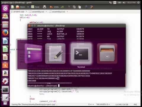 Program To Convert Assembly Program to Object Program ( 2 Pass Assembler )