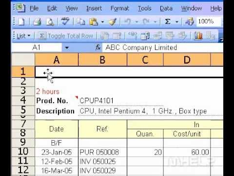 Microsoft Office Excel 2003 Set header or footer margins for printing