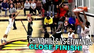 Chino Hills CLOSE FINISH Without LiAngelo VS Etiwanda! Lowest Scoring Game So Far | FULL HIGHLIGHTS