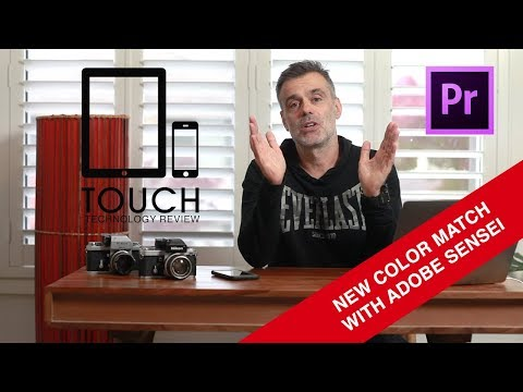 The easiest Way to color match your video with Adobe Premiere Pro CC - New AI driven Color Match