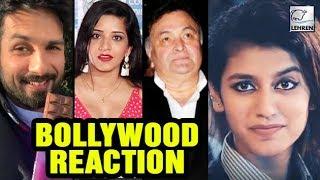 Bollywood Reacts On Internet Sensation Priya Prakash Varrier Lehrentv