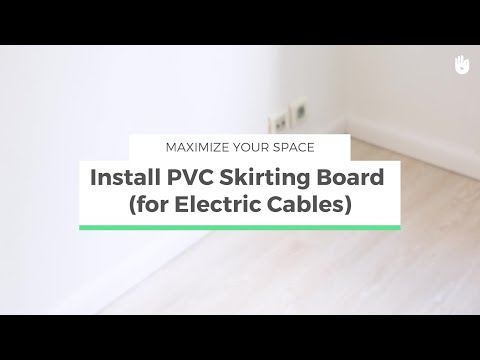 How to Install Plastic Skirting Boards | Maximize your Space