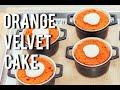 How To Make ORANGE VELVET CAKE For The Days You Dont Want Red Velvet
