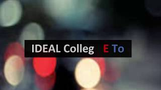 Ideal College E To( Despacito Perody)BY Funniest_Phobia