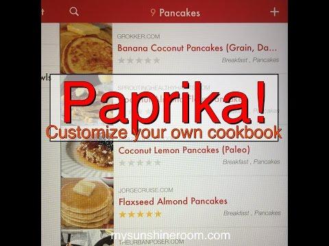 Paprika App - A quick overview