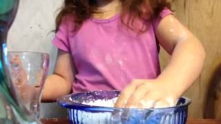 How To Make Quicksand Out Of Corn Starch For Your Dolls By Little Lucy