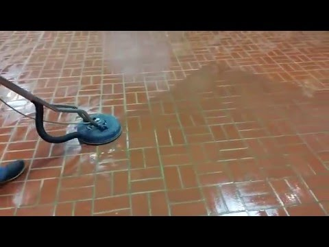 Professional Brick paver cleaning