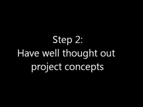 Step 2: Develop Project Concepts