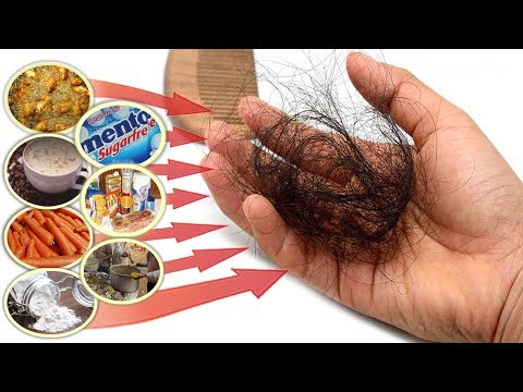These Foods That Cause Hair Loss, AVOID These Bad Foods To Stop Losing Hair!