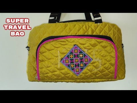 super travel bag make at home diy like amazon,snapdeal,flipkart,myntra,voonik 2018