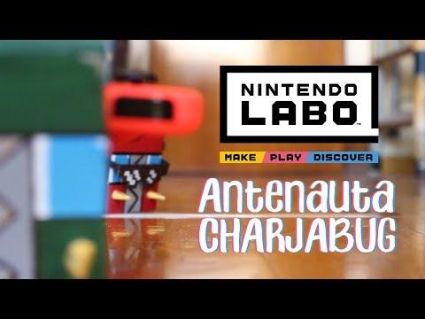 Antenauta CHARJABUG - Nintendo Labo [Construcción + personalización + carrera] [w/Kai]