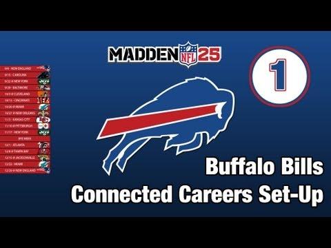 Madden NFL 25   Buffalo Bills Owner Career - Set-Up and Preseason Sim