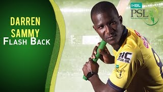 #FlashbackFriday with Darren Sammy