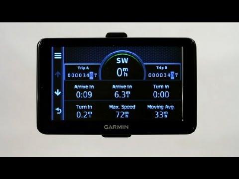How to Use the Garmin Track Log : Garmin GPS