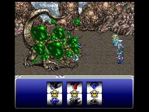 Final Fantasy VI Fewest Steps Run Boss 19: Atma Weapon