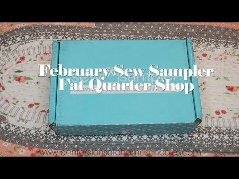 February 2018 Sew Sampler Unboxing