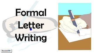 Formal Letter Writing CBSE, ICSE CLASS 10 English Lesson explained in Hindi