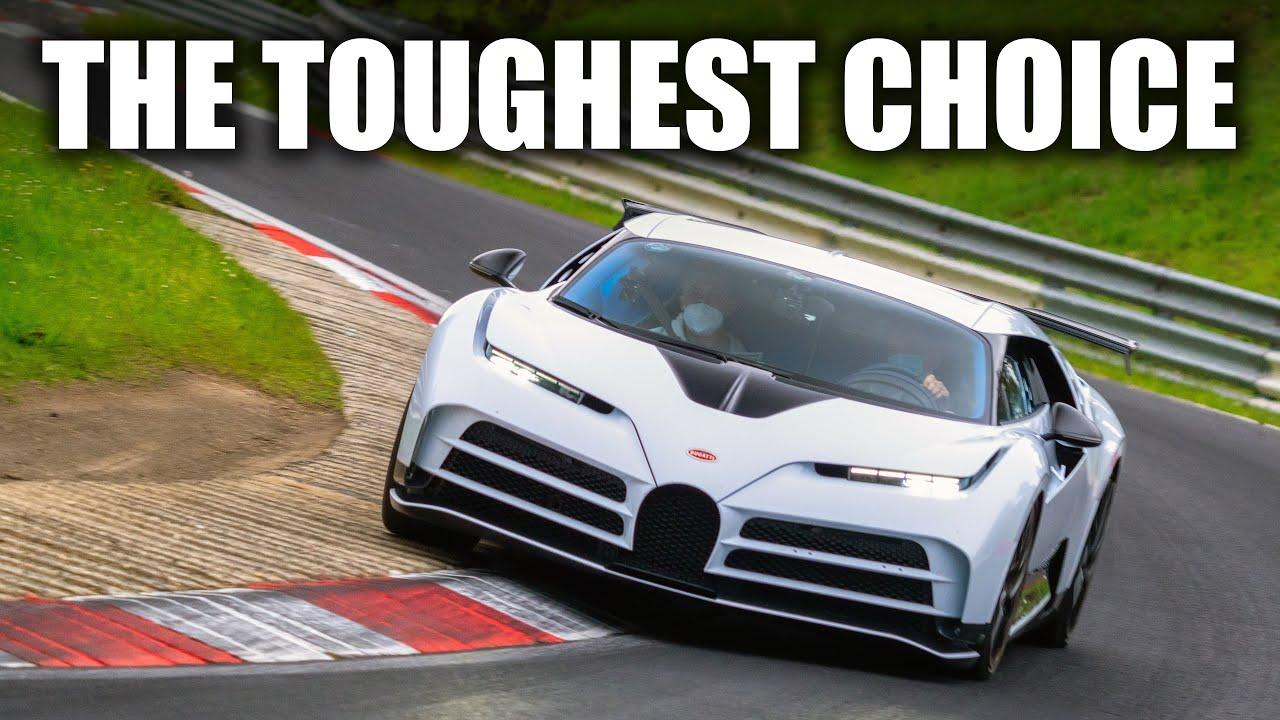 *WORLDS FIRST* Bugatti Centodieci Nürburgring Onboard!