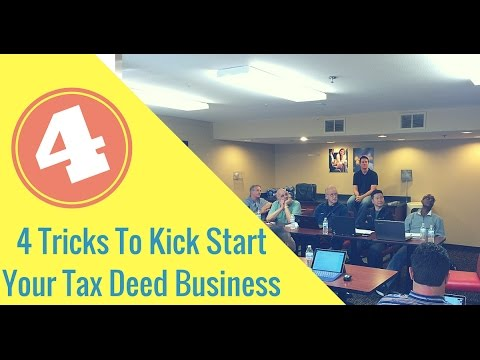4 Tricks To Kickstart Your Tax Deed Business TODAY (TLTV 34)