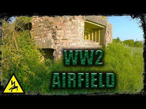 Metal Detecting UK - Abandoned WW2 Airfield