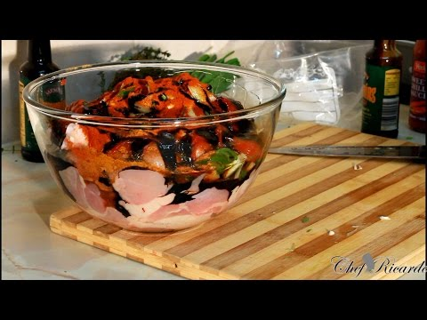Stew Chicken | How To Marinate Jamaican Style| Recipes By Chef Ricardo