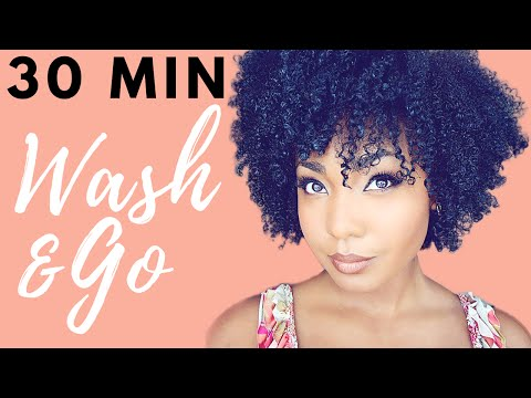 Quick 30 Minute Wash and Go| NaturalHair