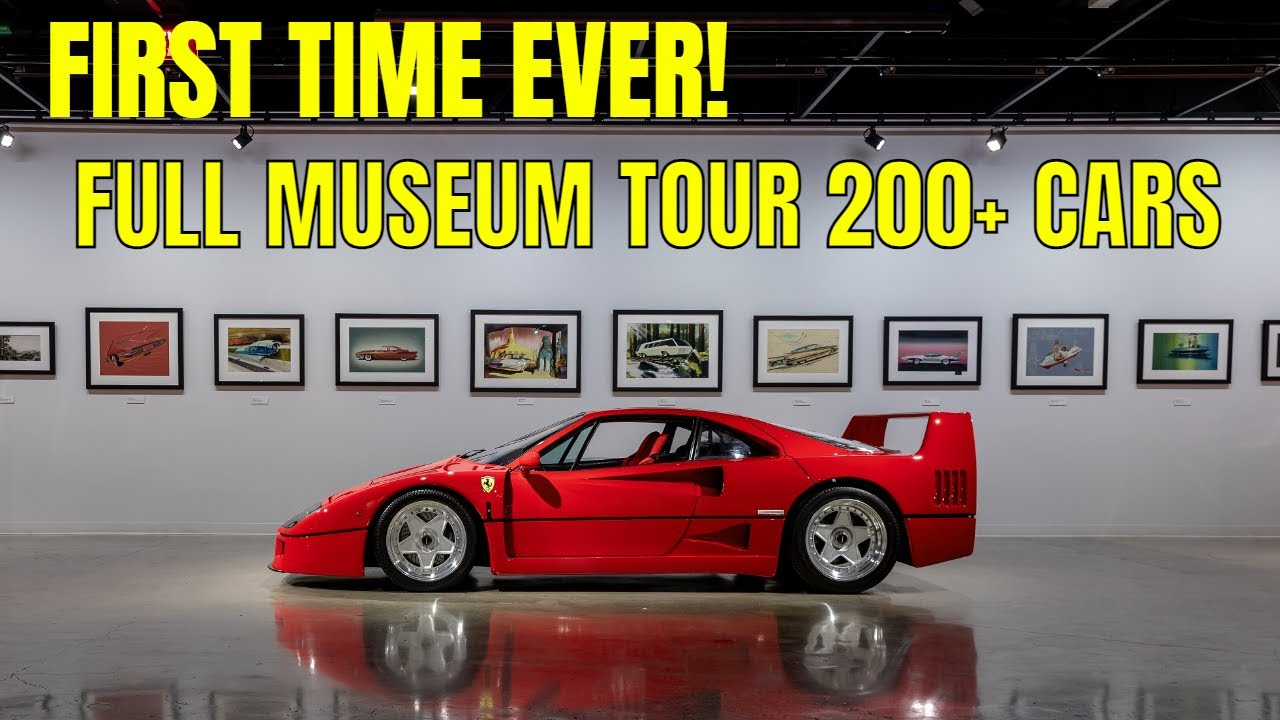 FIRST TIME EVER! FULL PETERSEN COLLECTION TOUR | HETFIELD, SUPERCARS, PORSCHE, OVER 200 CARS