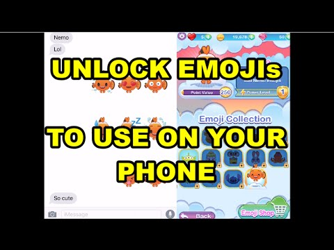 Disney Emoji Blitz | Using Disney Emojis to text on your phone keyboard | iOS