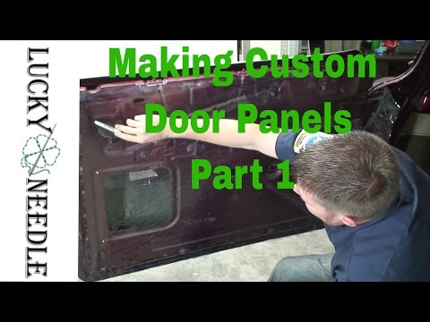 Automotive Upholstery - Making Custom Door Panels Part 1 - Patterns