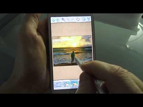 Samsung Galaxy Note 2 - Paper Artist
