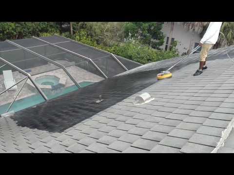 Flat Tile Roof.