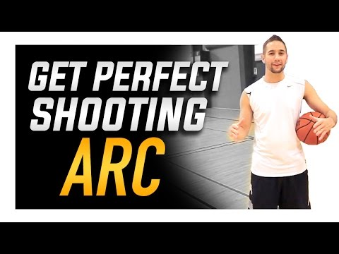 How to Get Perfect Basketball Shooting Arc