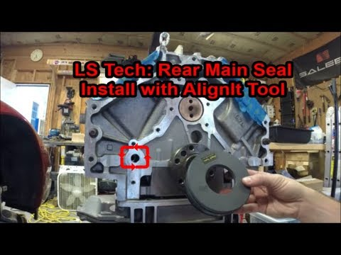 LS Tech: Rear Main Seal Install with AlignIt Tool