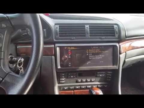 NBT idrive RETROFIT 2000 BMW 750IL E38