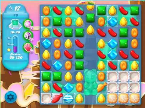 Candy Crush Soda Saga Level 70 - No Boosters