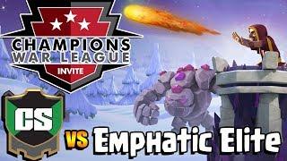 WAR!!! COLD SEPTEMBER vs EMPHATIC ELITE CWL INVITE Season 3 Week 3 LIVE STREAM | Clash of Clans